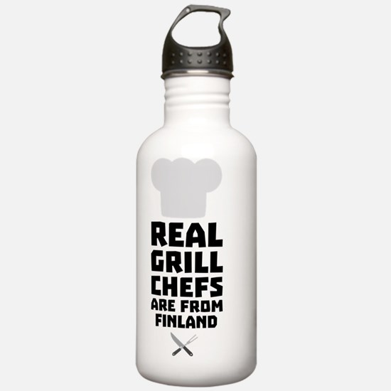 Real Grill Chefs are f Water Bottle