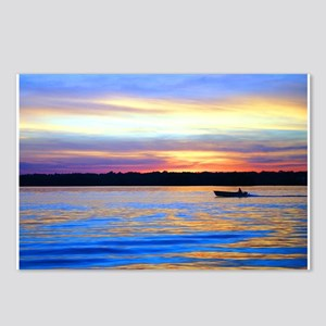 Lake Lanier at Sunset Postcards (Package of 8)