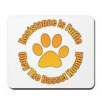 Basset Hound Mousepad