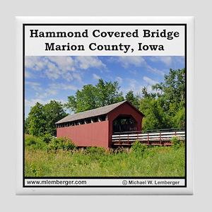 Hammond Covered Bridge Tile Coaster