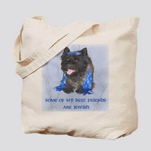 """""""Some of my Best Friends. . .Jewish Cairn Tote Bag"""