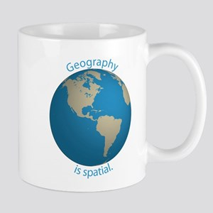 Geography is Spatial Mug
