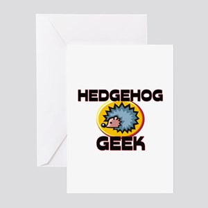 Hedgehog Geek Greeting Cards (Pk of 10)