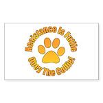 Collie Sticker (Rectangle 10 pk)