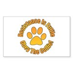 Collie Sticker (Rectangle 50 pk)