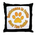 Collie Throw Pillow