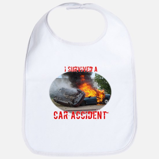 I Survived A Car Accident Bib