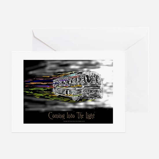 'Coming Into The Light' Greeting Card