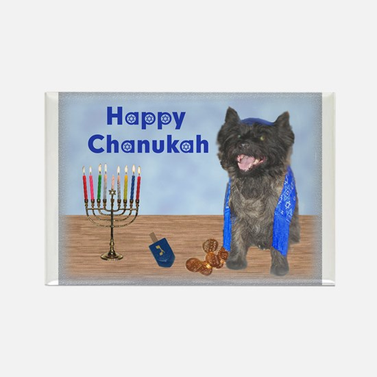 Whole Magillah Cairn Chanukah Rectangle Magnet