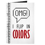 I flip in colors Journal