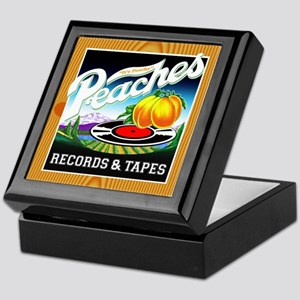 Peaches Records & Tapes Keepsake Box
