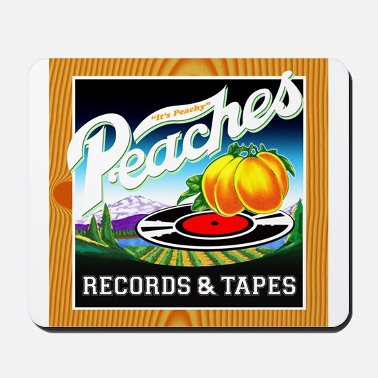 Peaches Records & Tapes Mousepad