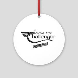 Challenger Vintage Ornament (Round)