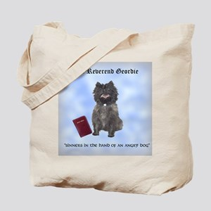 Holy Cairn Terrier Tote Bag (Jewish Version)