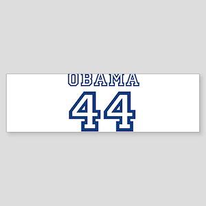 OBAMA 44 JERSEY SHIRT 44TH PR Bumper Sticker