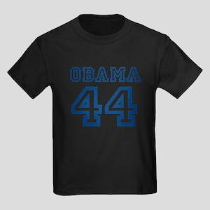OBAMA 44 JERSEY SHIRT 44TH PR Kids Dark T-Shirt