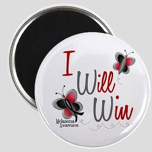 I Will Win 1 Butterfly 2 MELANOMA Magnet