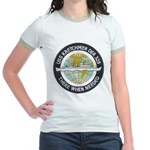 USS KRETCHMER Jr. Ringer T-Shirt