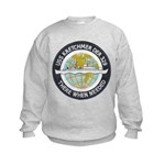 USS KRETCHMER Kids Sweatshirt