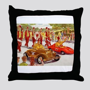 Shriner Mini Cars Throw Pillow