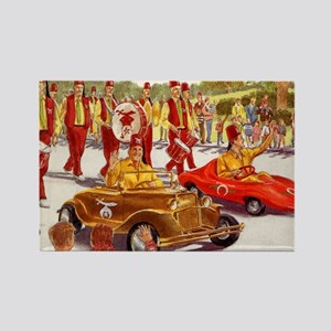 Shriner Mini Cars Rectangle Magnet