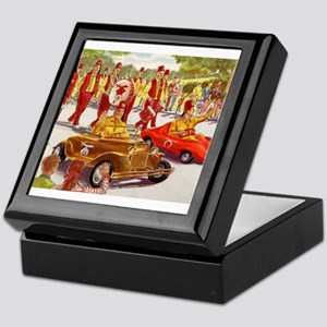 Shriner Mini Cars Keepsake Box