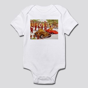 Shriner Mini Cars Infant Bodysuit