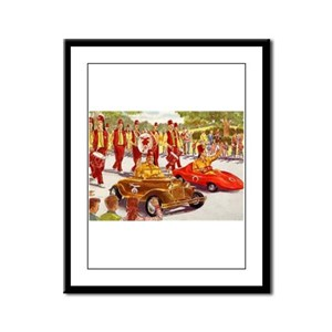 Shriner Mini Cars Framed Panel Print