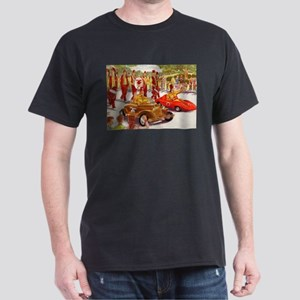 Shriner Mini Cars Dark T-Shirt