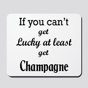 If you can't get lucky at least get Cham Mousepad