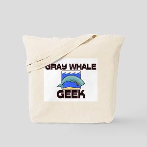 Gray Whale Geek Tote Bag