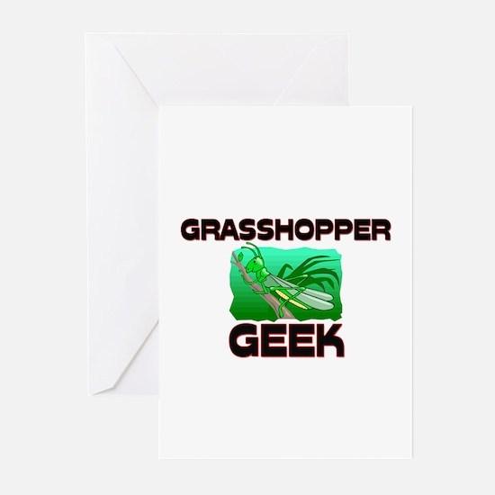 Grasshopper Geek Greeting Cards (Pk of 10)