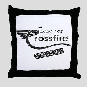 Crossfire Vintage Throw Pillow