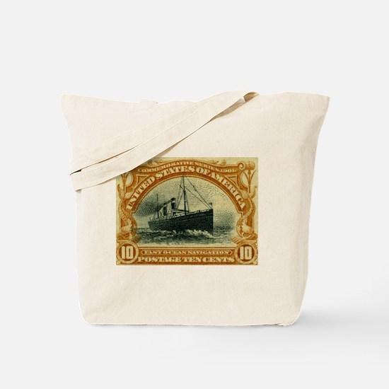US 10c ocean navigation Tote Bag