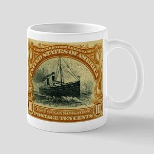 US 10c ocean navigation Mug