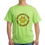 Bullmastiff Green T-Shirt