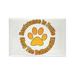 Bullmastiff Rectangle Magnet (100 pack)
