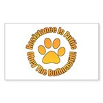 Bullmastiff Sticker (Rectangle)