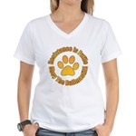 Bullmastiff Women's V-Neck T-Shirt