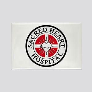 Sacred Heart Hospital Rectangle Magnet