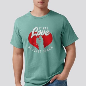 It Was Love At First Spark T-Shirt