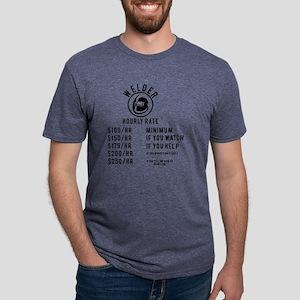 welder hourly rate T-Shirt