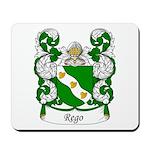 Rego Family Crest Mousepad