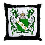 Rego Family Crest Throw Pillow