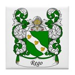 Rego Family Crest Tile Coaster