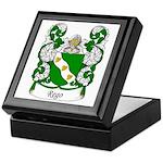 Rego Family Crest Keepsake Box