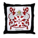 Reinoso Family Crest Throw Pillow