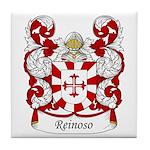 Reinoso Family Crest Tile Coaster