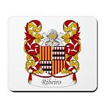 Ribeiro Family Crest Mousepad