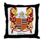 Ribeiro Family Crest Throw Pillow